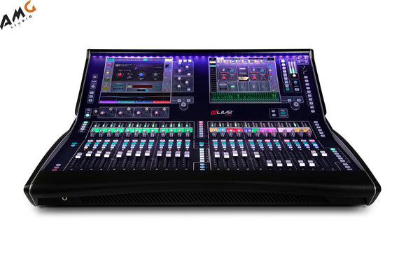 Allen & Heath dLive C3500 Control Surface with Dual 12