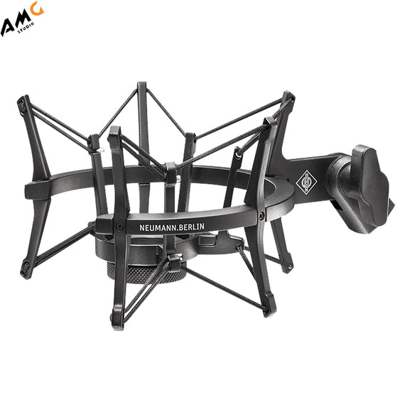 Neumann EA 4 Elastic Suspension Shockmount (Nickel | Black) - Studio AMG