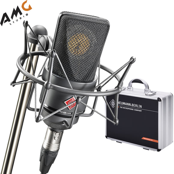 Neumann TLM 103 Large-Diaphragm Condenser Microphone (Mono Set, Black | Nickel) - Studio AMG