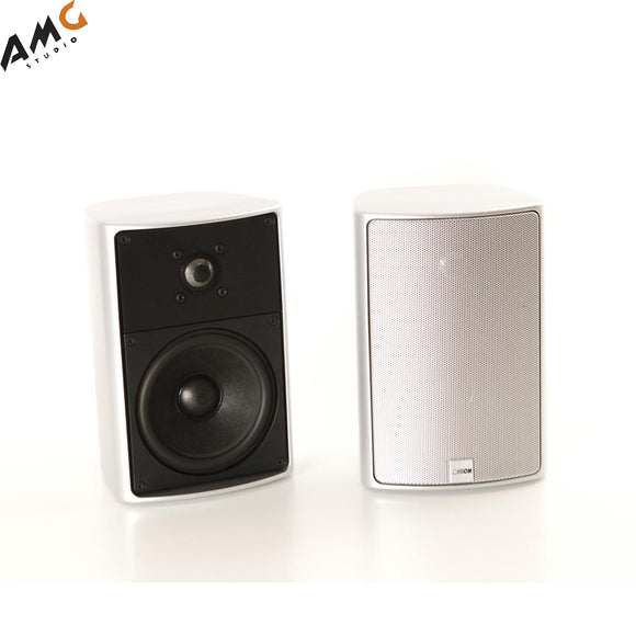 Canton Plus XL Loudspeaker System - Speaker Pair White 60/100 Watt - Studio AMG