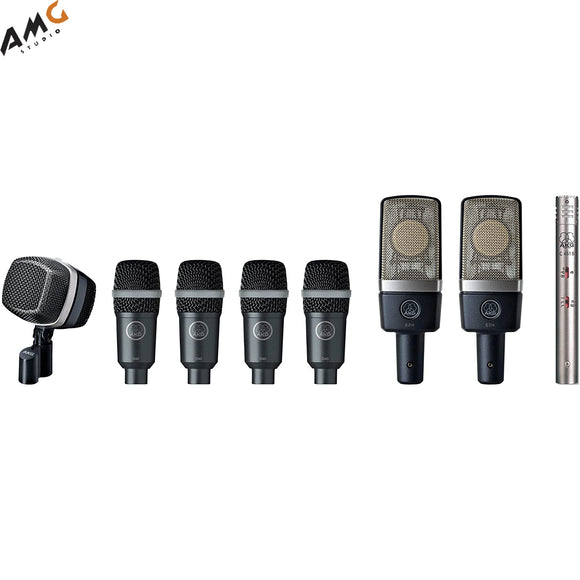 AKG Drum Premium Microphone Set - Studio AMG