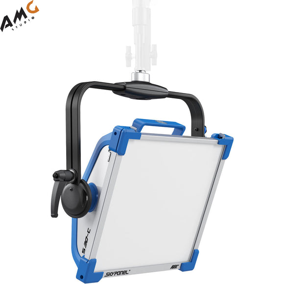 ARRI SkyPanel S30-C | S30-RP LED Softlight | Tungsten | Daylight (Blue/Silver, Manual/Pole Operated, Edison | Schuko | Bare Ends) L0.0007711 L0.0007717 L0.0007723