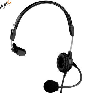 Telex PH-88 - Lightweight Single Ear Sided Intercom Headset PH88 Black - Studio AMG