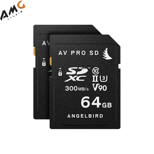 Angelbird 128/256/512GB Match Pack for the Panasonic GH5 & GH5S (2 x 64/128/256GB) - Studio AMG