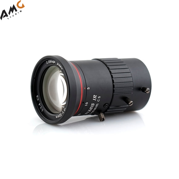 AIDA Imaging HD Varifocal 5.0-50mm Manual Iris CS Mount Lens - Studio AMG