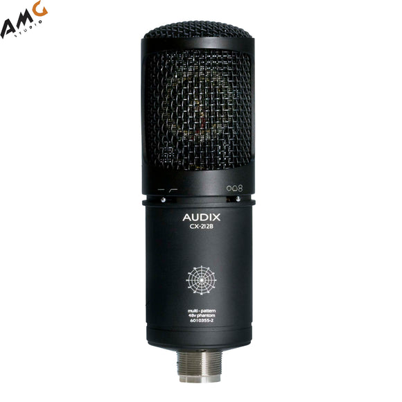 Audix CX212B Large Diaphragm Multi-Pattern Studio Condenser Microphone - Studio AMG