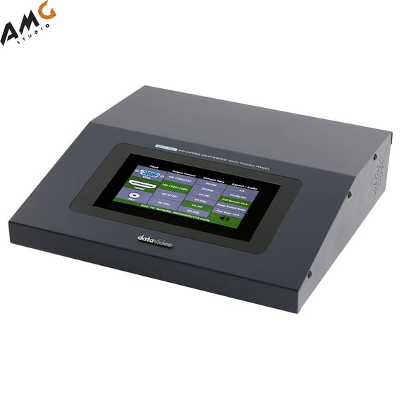 Datavideo DAC-75T HD Cross Converter with Touch Panel - Studio AMG