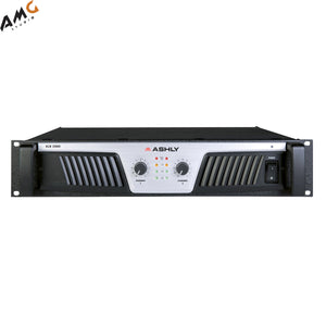 Ashly KLR-2000 2-Chanel Stereo Power Amplifier 350W/Channel @ 8 Ohms Stereo - Studio AMG