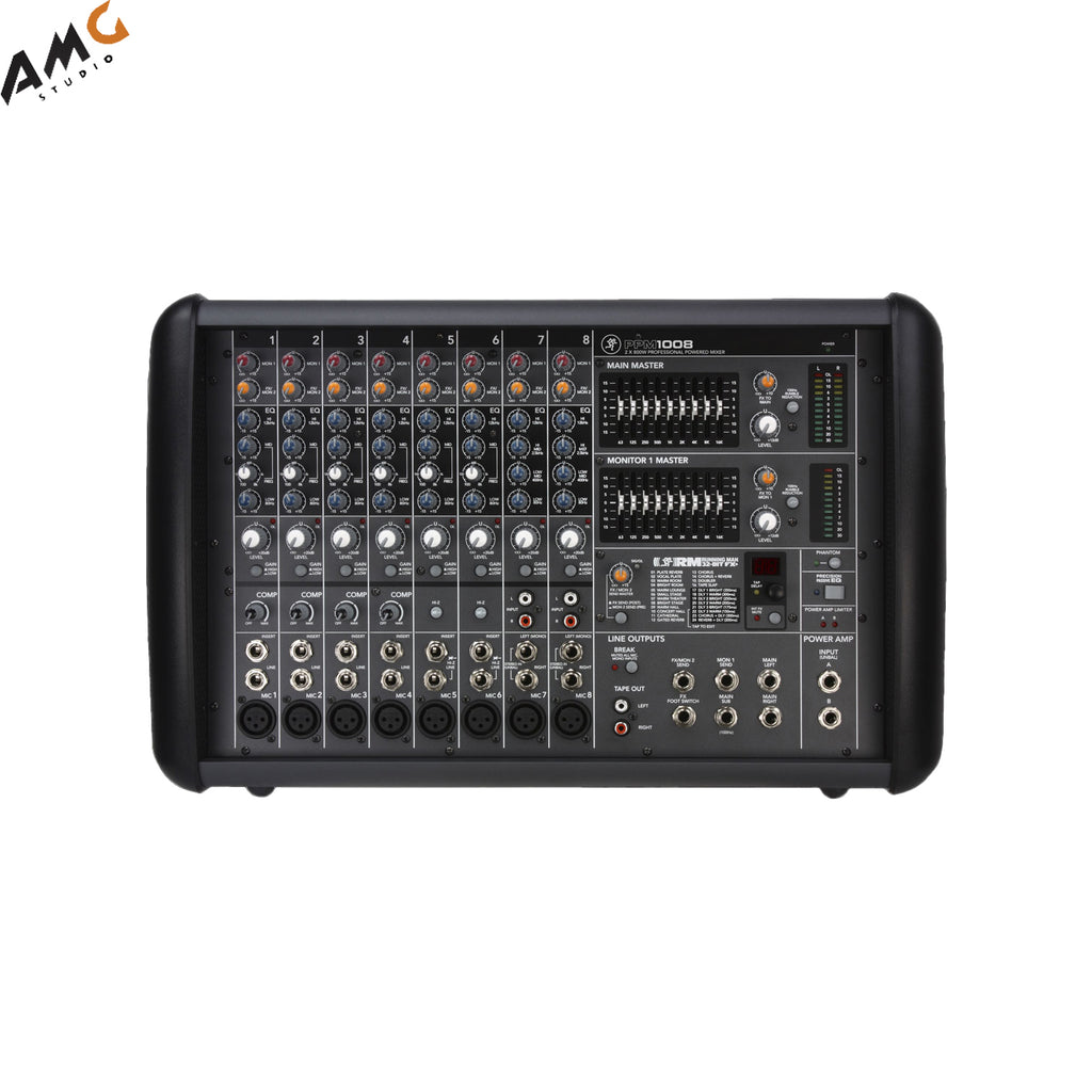 Mackie PPM1008 8-Channel Professional Powered Mixer (1600W)