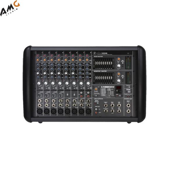 Mackie PPM1008 8-Channel Professional Powered Mixer (1600W) - Studio AMG