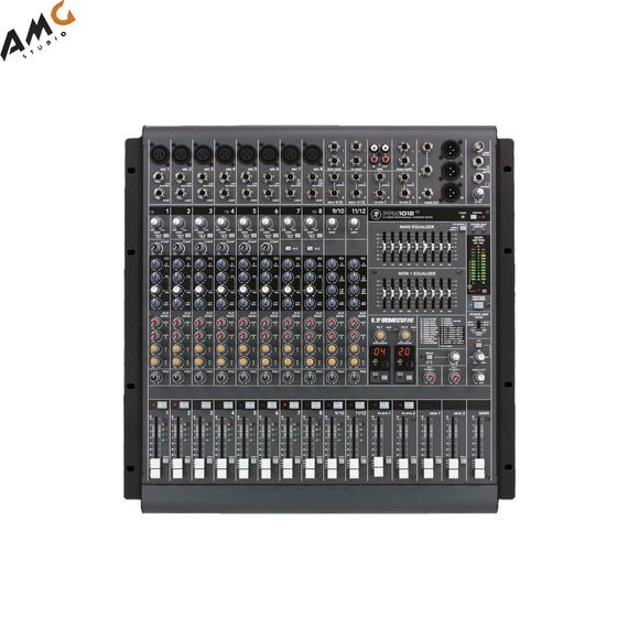 Mackie PPM1012 12-Channel Professional Desktop Powered Mixer (1600W) - Studio AMG