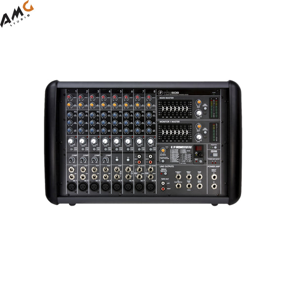 Mackie PPM608 8-Channel Professional Powered Mixer (1000W) - Studio AMG