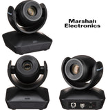 Marshall Electronics CV610-UB Full HD USB 2.0 PTZ Camera Black - Studio AMG