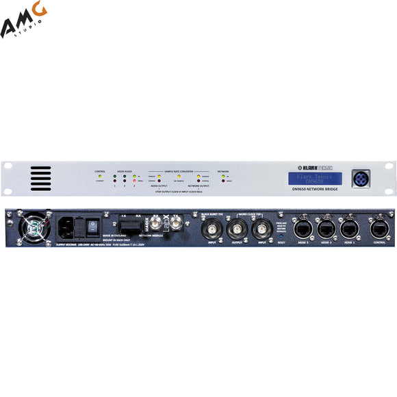 Klark Teknik DN9650 Digital Audio Network Bridge - Studio AMG