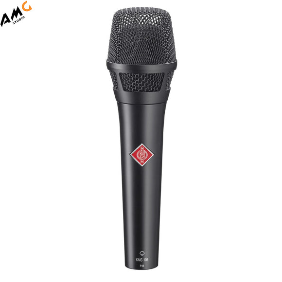 Neumann KMS 105 - Live Vocal Condenser Microphone (Nickel | Black) - Studio AMG