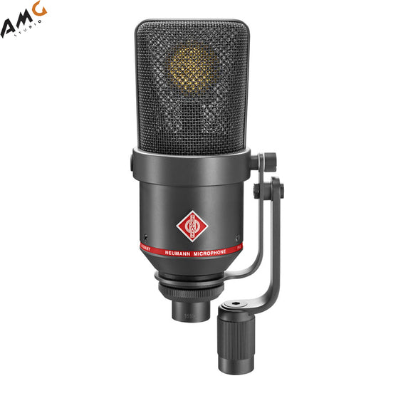 Neumann TLM 170 R Multi-Pattern Large-Diaphragm Studio Condenser Microphone (Black | Nickel) - Studio AMG