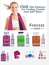 Load image into Gallery viewer, Yoga Ice Cooling Towel & Spray