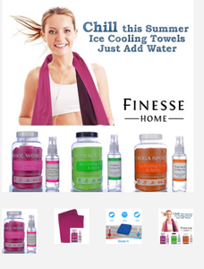 Yoga Ice Cooling Towel & Spray