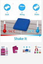 Load image into Gallery viewer, Kool Women Ice Cooling Towel & Spray