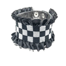 Load image into Gallery viewer, Checkered Ruffle Wrap Bracelet