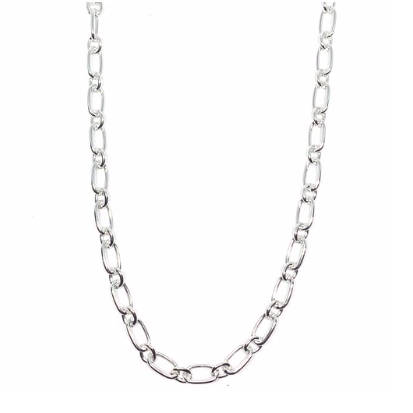 "Discover eye-catching, straight-off-the-runway inspired pieces. One statement piece, infinite possibilities…  Merx Modern is exclusively designed and handmade in Canada.  This ever popular silver chain necklace is the perfect plain necklace to go with all your outfits.   This necklace length is 35.5+ 2"" extender & clasp"