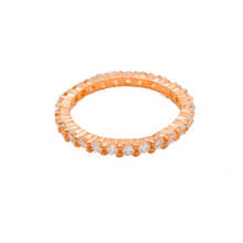 Load image into Gallery viewer, Rose Gold Eternity Band