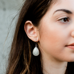 White Collection Earrings