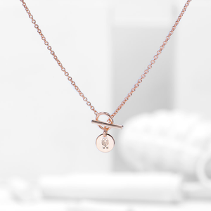 Charm Rose Gold Necklace