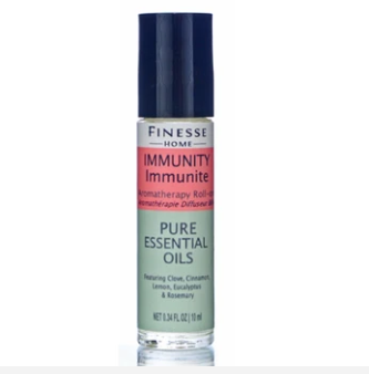 Immunity is a protective blend of essential oils carefully chosen for their antiviral properties. Designed to help protect your immune system.  Ingredients: Jojoba oil, Eugenia caryophylatta, Citrus limonum, Cinnamoum zeylanicum, Eucalyptus globulus  All natural - Paraben free - SLS free - Mineral Oil Free - Never tested on animals  10ml bottle