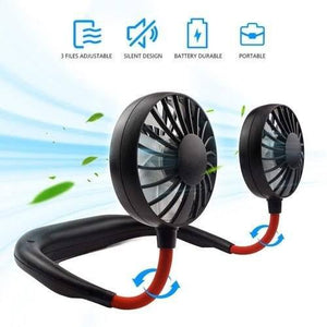 Wearable Neck Fan | Summer Gadget  | Free Shipping