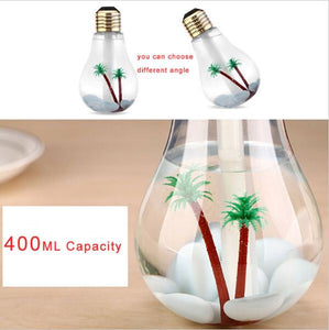 USB Sanitize Diffuser - Bulb Shape Coolest Air Purifier