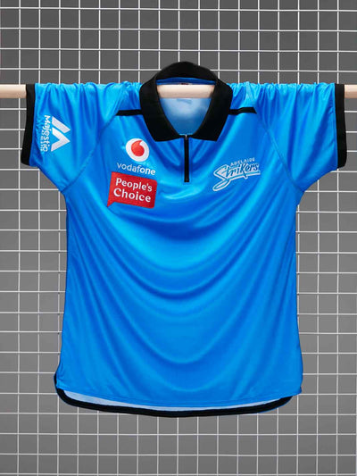 Adelaide Strikers 2020/21 Men's Replica Media Polo Front