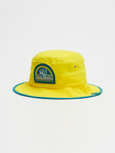 Cricket Australia 2020/21 Yellow Supporter Bucket Hat Front
