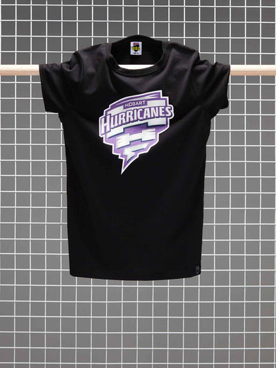 Hobart Hurricanes 2020/21 Women's Full Colour Logo T-Shirt - Front