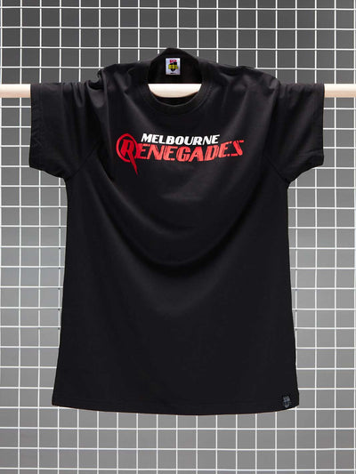 Melbourne Renegades 2020/21 Men's Full Colour Logo T-Shirt - Front