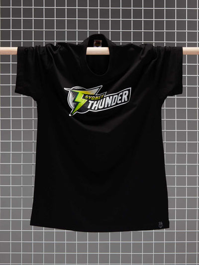 Sydney Thunder 2020/21 Men's Full Colour Logo T-Shirt - Front