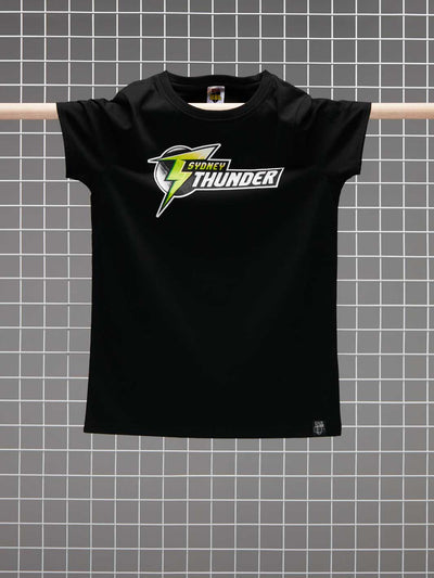 Sydney Thunder 2020/21 Women's Full Colour Logo T-Shirt - Front