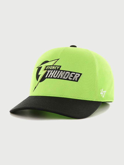 Sydney Thunder Lime BBL Onfield Single 47 Solo Cap - Front