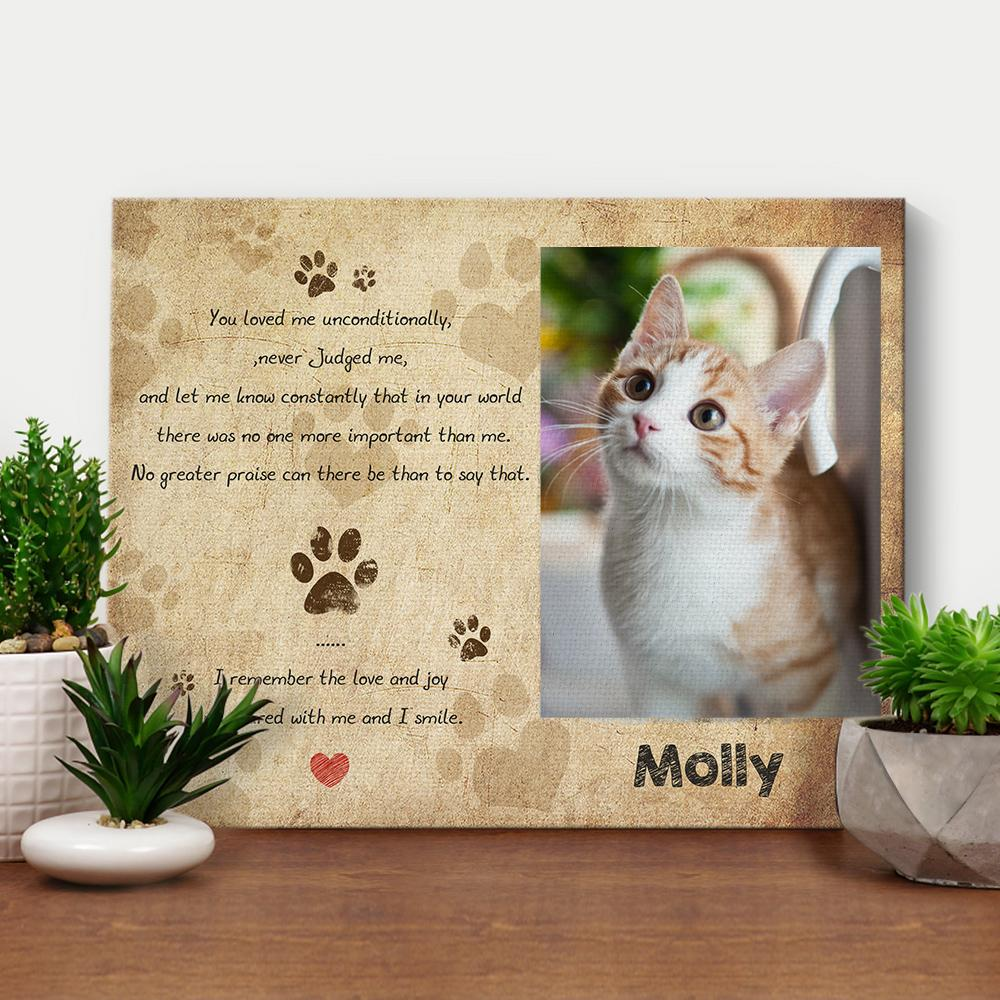 Pictures Canvas  Memorial Gifts-You were My Favorite