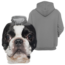 Sweats à Capuche Unisexe 3D Graphic Dog - Boston Terrier