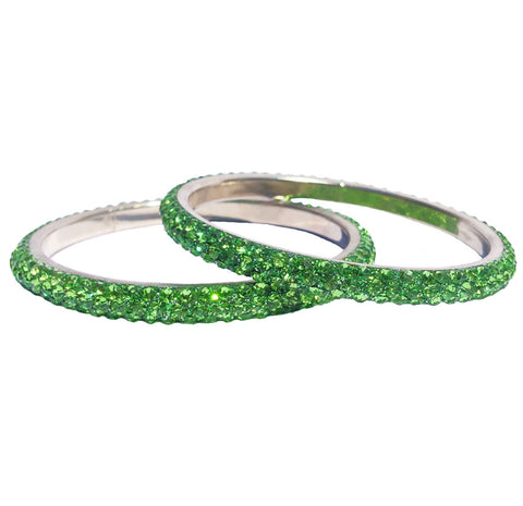 LAS VEGAS BANGLE - APPLE GREEN