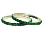 LAS VEGAS BANGLE - DARK GREEN