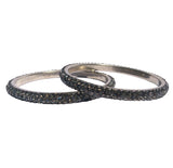 LAS VEGAS BANGLE - HEMATITE