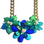 GUATAMALA NECKLACE - BLUE