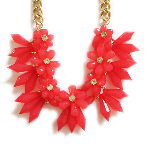 HAWAII NECKLACE - CORAL
