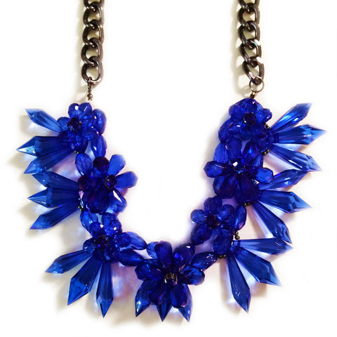 HAWAII NECKLACE - ROYAL BLUE
