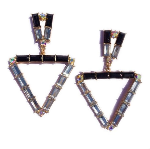 TRINA EARRINGS - BLACK