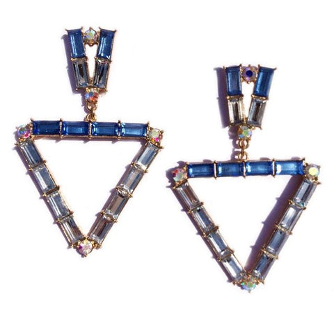 TRINA EARRINGS - BLUE