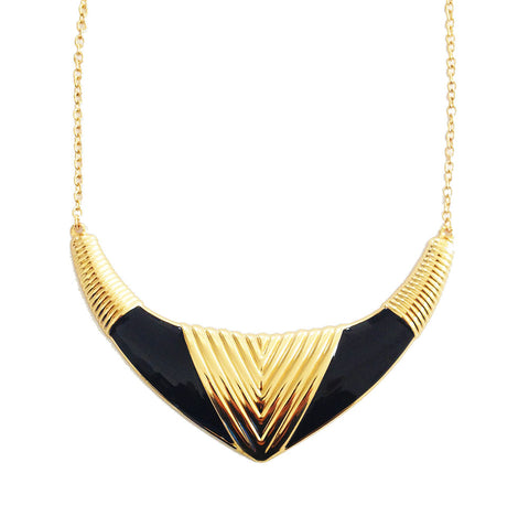 ROMA NECKLACE - BLACK