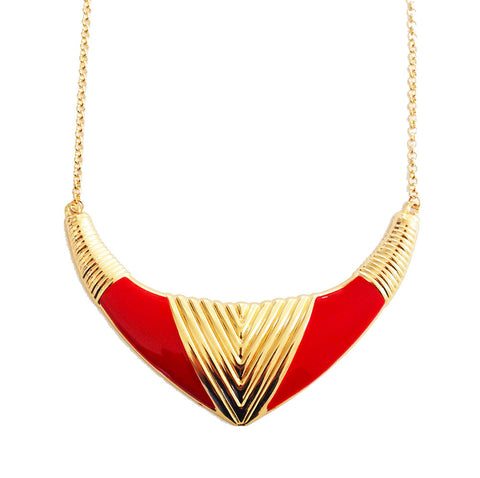 ROMA NECKLACE - RED